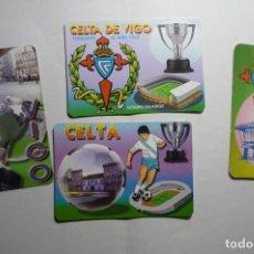 Coleccionismo Calendarios: LOTE CALENDARIOS FUTBOL CELTA 1996-2004-2006-2007. Lote 148860314