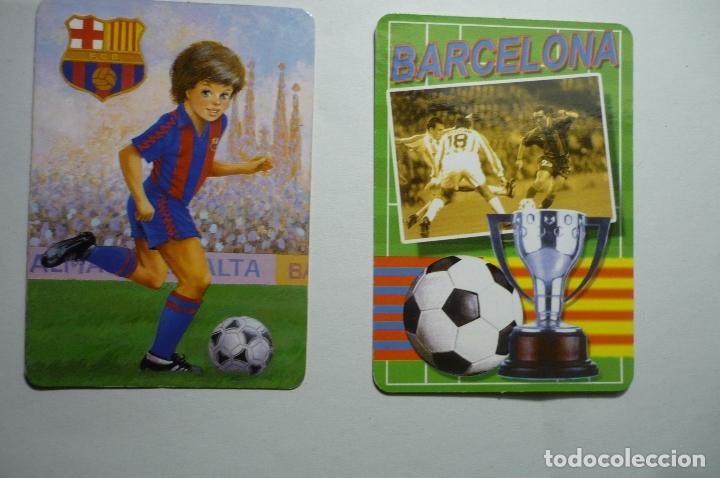 LOTE CALENDARIOS FUTBOL 1992-2006 FC BARCELONA (Coleccionismo - Calendarios)