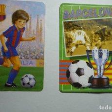 Coleccionismo Calendarios: LOTE CALENDARIOS FUTBOL 1992-2006 FC BARCELONA. Lote 148860362