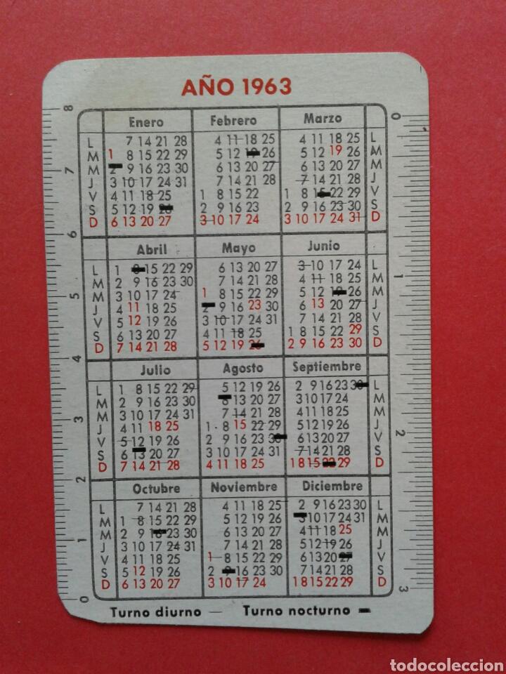 Coleccionismo Calendarios: CALENDARIO FARMACIA GERMANA 1963 - Foto 2 - 149305618