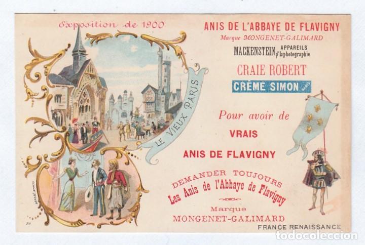 Calendario 1900.Fantastico Calendario Anis De L Abbaye De Flavigny Souvenir Exposition 1900 France Renaissance Aa