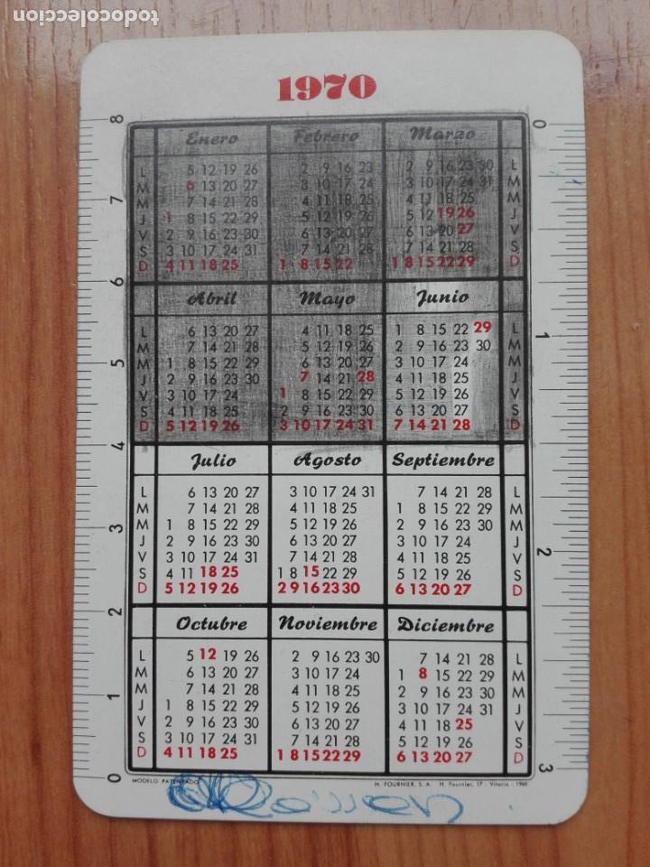 Coleccionismo Calendarios: CALENDARIO FOURNIER 1970 UNIDADES DIDACTICAS ALVAREZ-EDITORIAL MIÑON VALLADOLID - Foto 2 - 149813370
