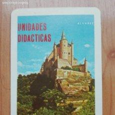 Coleccionismo Calendarios: CALENDARIO FOURNIER 1970 UNIDADES DIDACTICAS ALVAREZ-EDITORIAL MIÑON VALLADOLID. Lote 149813370