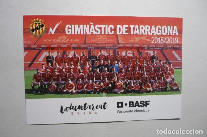 Calendario Futbol 2019.Calendario Catalan 2019 Futbol Club Gimnastic Tarragona