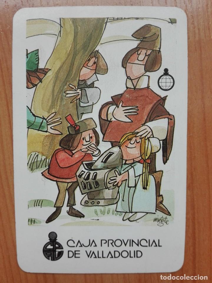 CALENDARIO H FOURNIER - CAJA PROVINCIAL DE VALLADOLID - 1987 (MINGOTE) (Coleccionismo - Calendarios)