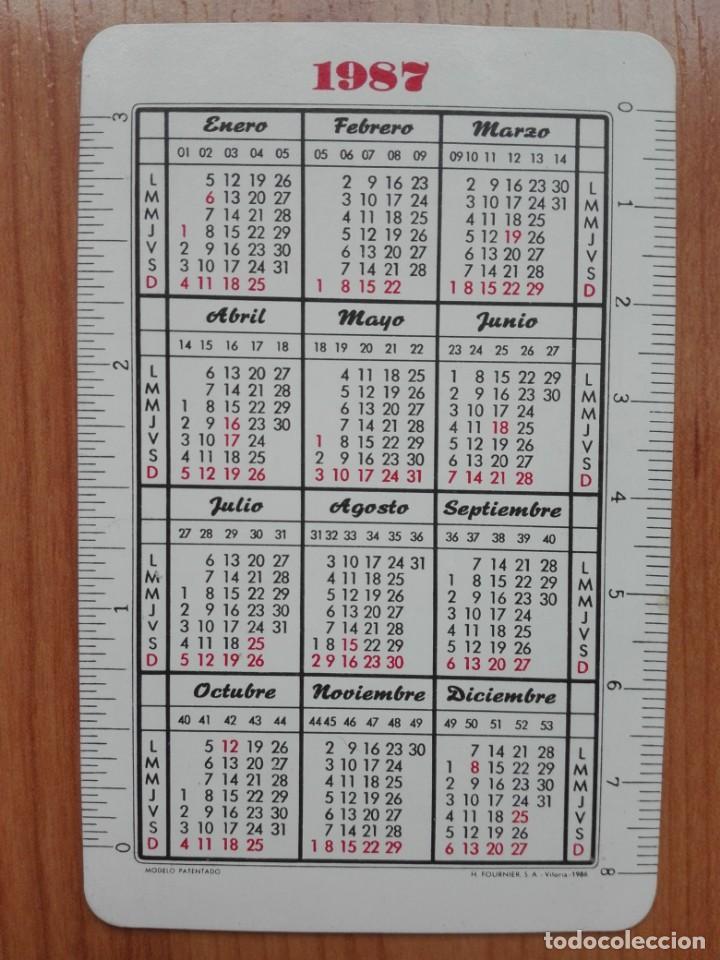 Coleccionismo Calendarios: CALENDARIO H FOURNIER - CAJA PROVINCIAL DE VALLADOLID - 1987 (MINGOTE) - Foto 2 - 150290306