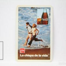 Coleccionismo Calendarios: CALENDARIO FOURNIER DE BOLSILLO - AÑO 1973 - COCA COLA LA CHISPA DE LA VIDA. Lote 150380862