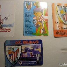 Coleccionismo Calendarios: LOTE CALENDARIOS FUTBOL AT.BILBAO - 1995-1997-2002-2004. Lote 150502322