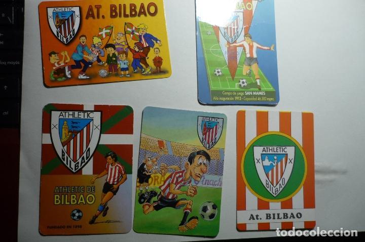 LOTE CALENDARIOS FUTBOL AT.BILBAO 1997-1998-2002-2003 (Coleccionismo - Calendarios)