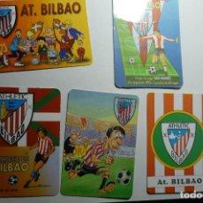 Coleccionismo Calendarios: LOTE CALENDARIOS FUTBOL AT.BILBAO 1997-1998-2002-2003. Lote 150502390