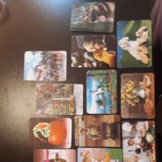 Coleccionismo Calendarios: LOTE CALENDARIOS AÑOS 80 - 90 NO FOURNIER. Lote 150575888