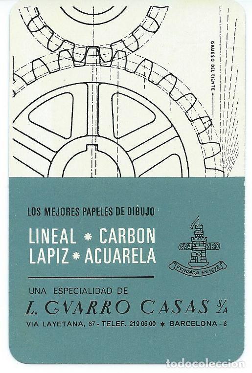 CALENDARIO L.GUARRO CASAS DE FOURNIER AÑO 1967 (Coleccionismo - Calendarios)