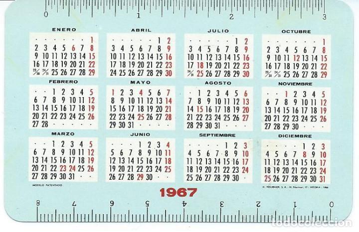 Coleccionismo Calendarios: CALENDARIO L.GUARRO CASAS DE FOURNIER AÑO 1967 - Foto 2 - 150797850