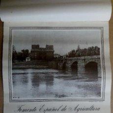 Coleccionismo Calendarios: CALENDARIO VALENCIA ANTIGUA. FOMENTO ESPAÑOL DE AGRICULTURA. AÑO 1948. Lote 150934530