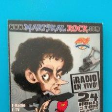 Coleccionismo Calendarios: CALENDARIO RADIO MARISKALROCK 2008. Lote 152596234