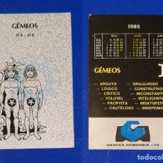 Coleccionismo Calendarios: CALENDARIO EDITADO EN PORTUGAL - AÑO 1985 - GRÁFICA MOBIDIQUE, LDA. Lote 151351778