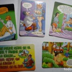 Coleccionismo Calendarios: LOTE CALENDARIOS CHISTES AÑOS DIF.AÑOS. Lote 151391902