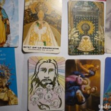 Coleccionismo Calendarios: LOTE CALENDARIOS RELIGIOSOS DIF.AÑOS. Lote 151392050