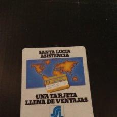 Coleccionismo Calendarios: CALENDARIO SEGUROS SANTA LUCÍA 1987. Lote 151395738