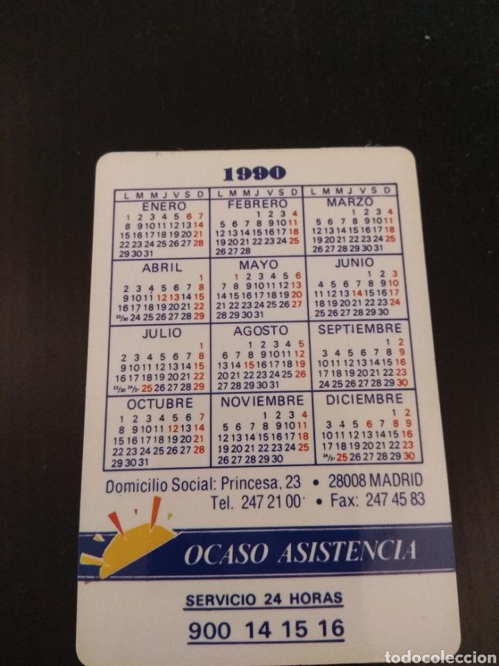 Calendario seguros ocaso multi auto 1990 - Sold through Direct Sale