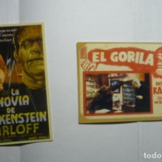 Coleccionismo Calendarios: LOTE CALENDARIOS CINE PELICULAS BORIS KARLOFF 1947-2008. Lote 151446434