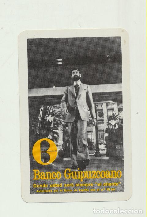 CALENDARIO FOURNIER. BANCO GUIPUZCOANO 1975 (Coleccionismo - Calendarios)