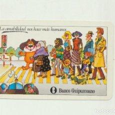 Coleccionismo Calendarios: CALENDARIO FOURNIER. BANCO GUIPUZCOANO 1980. Lote 151671745