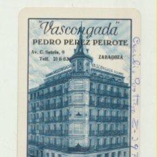 Coleccionismo Calendarios: CALENDARIO FOURNIER. SEGUROS VASCONGADA 1963. Lote 151671973