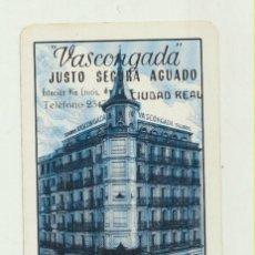 Coleccionismo Calendarios: CALENDARIO FOURNIER. SEGUROS VASCONGADA 1965. Lote 151671977