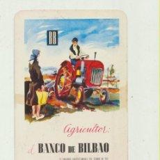Coleccionismo Calendarios: CALENDARIO FOURNIER 1963. BANCO DE BILBAO. Lote 151673064