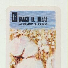 Coleccionismo Calendarios: CALENDARIO FOURNIER 1968. BANCO DE BILBAO. Lote 151673160