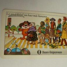Coleccionismo Calendarios: CALENDARIO HERACLIO FOURNIER BANCO GUIPUZCOANO 1980. Lote 151707690