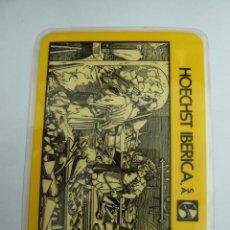 Coleccionismo Calendarios: CALENDARIO HOECHST IBERICA 1975 PERFECTO ESTADO. Lote 151718782