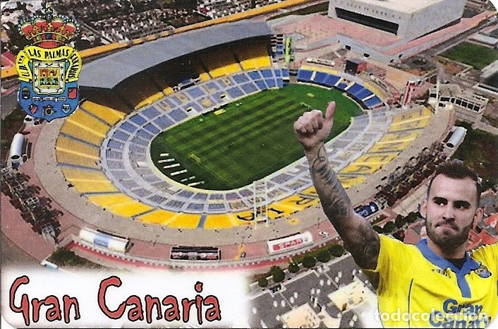 Calendario Palmas.Calendario Bolsillo U D Las Palmas Estadio G Sold