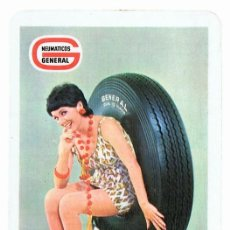 Coleccionismo Calendarios: CALENDARIO NEUMÁTICOS GENERAL SPRINT - JET AÑO 1971. Lote 152295386