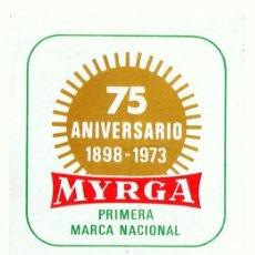 Coleccionismo Calendarios: CALENDARIO MYRGA AÑO 1973 . Lote 152295598