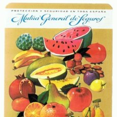 Coleccionismo Calendarios: CALENDARIO MUTUA GENERAL DE SEGUROS AÑO 1968 . Lote 152296414