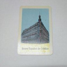 Coleccionismo Calendarios: CALENDARIO DE BOLSILLO FOURNIER. BANCO ESPAÑOL DE CREDITO 1963. TDKP14. Lote 152370274