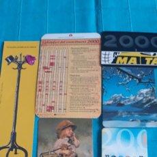 Coleccionismo Calendarios: LOTE CALENDARIOS AÑO 2000. Lote 152371792