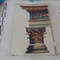 Coleccionismo Calendarios: CALENDARIO DE PARED ARCHITETTURA ARQUITECTURA 2000. Lote 152372200