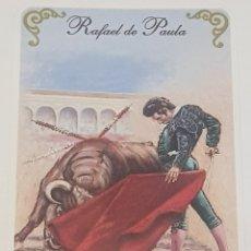 Coleccionismo Calendarios: CALENDARIO DE BOLSILLO - TOROS - TAUROMAQUIA - RAFAEL DE PAULA - 2006. Lote 152384104