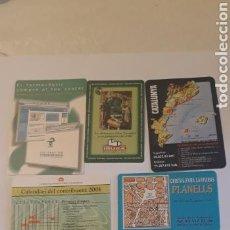 Coleccionismo Calendarios: LOTE CALENDARIOS PUBLICITARIOS 2001. Lote 152430853