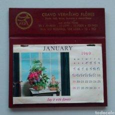 Coleccionismo Calendarios: CALENDARIO BRASIL 1969. Lote 152642608