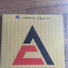 Coleccionismo Calendarios: ANTIGUO CALENDARIO 1971, COMERCIAL PEGASO, CON FOTOS EXCAVADORAS. MUY CURIOSO. Lote 152756086