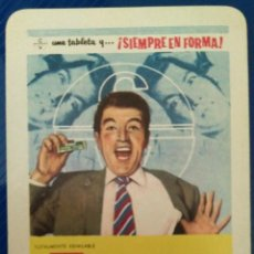 Coleccionismo Calendarios: AÑO 1964. CALENDARIO FOURNIER DE CALMANTE VITAMINADO.. Lote 152840234