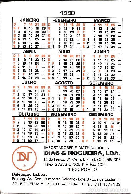 1990 Calendario.Calendario De Nanas De 1990