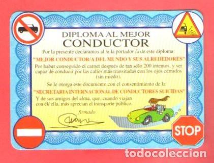Calendario 2001.Calendario 2001 Humor Diploma Conductor Bode Sold Through