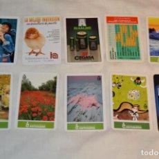 Coleccionismo Calendarios: LOTE 10 CALENDARIOS FOURNIER - CAJA DE AHORROS DE ANTEQUERA Y OTROS - FOURNIER SPAIN - ENVÍO 24H. Lote 152960738