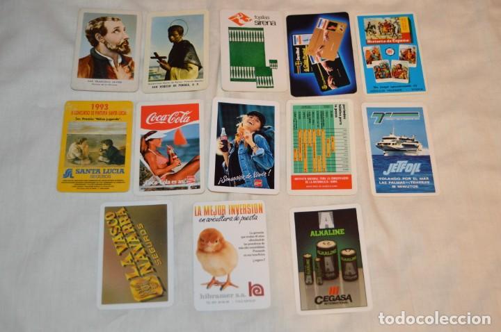 LOTE 13 CALENDARIOS FOURNIER - CEGASA, COCACOLA, SANTA LUCÍA Y OTROS - 60, 80, 70 Y 90 - ENVÍO 24H (Coleccionismo - Calendarios)