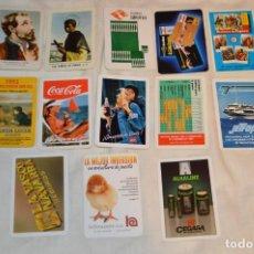 Coleccionismo Calendarios: LOTE 13 CALENDARIOS FOURNIER - CEGASA, COCACOLA, SANTA LUCÍA Y OTROS - 60, 80, 70 Y 90 - ENVÍO 24H. Lote 152961186